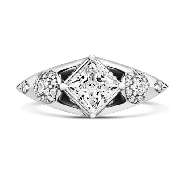 Lux  Ethical Solitaire Diamond Engagement Ring - CRED Jewellery - Fairtrade Jewellery - 2