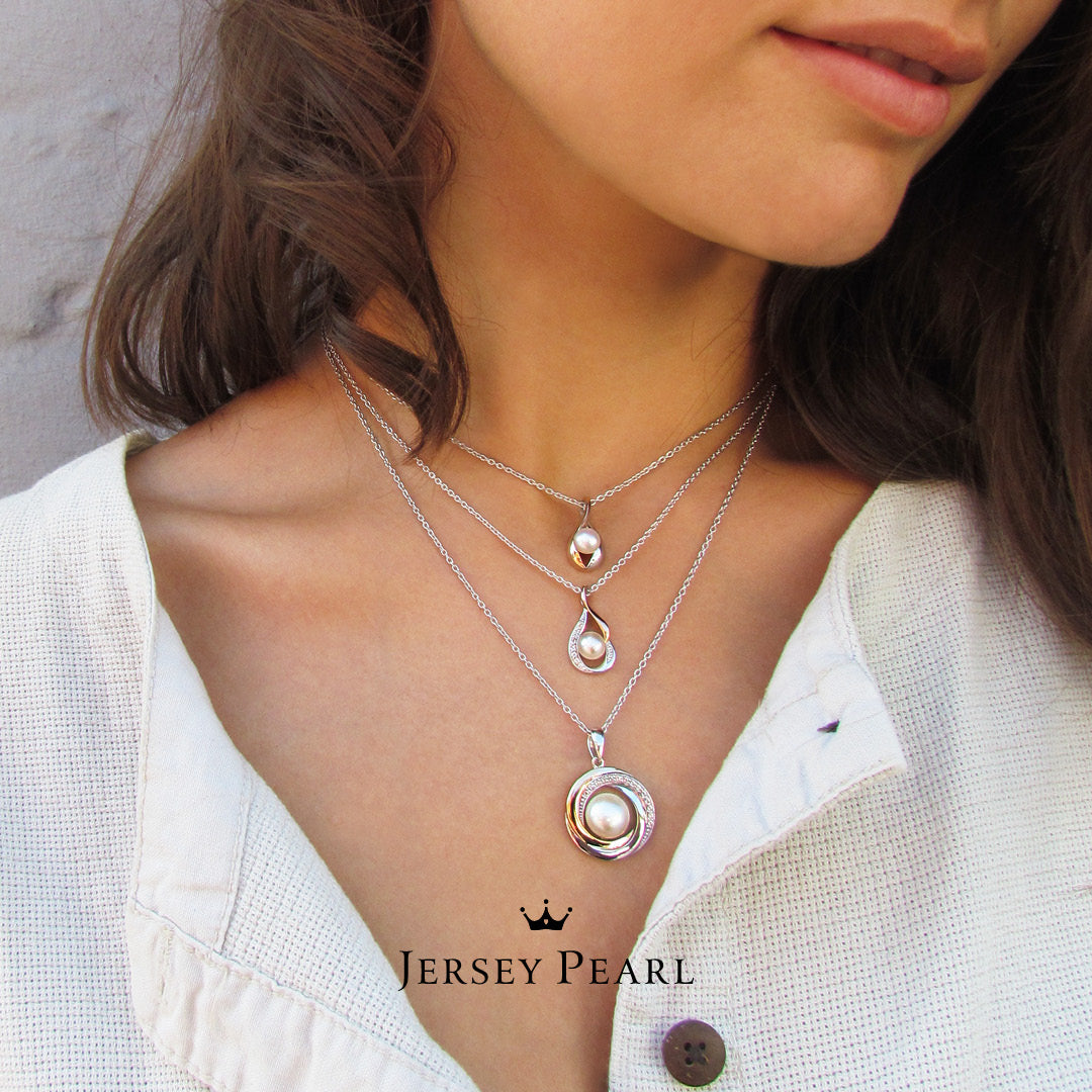 Jersey Pearl Camrose Drop Earrings