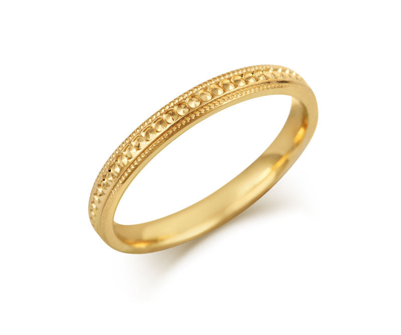 Elegance Wedding Ring - CRED Jewellery - Fairtrade Jewellery - 1