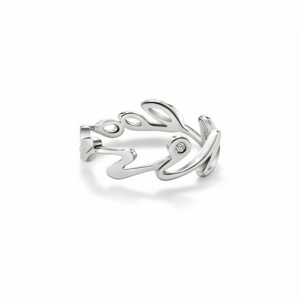 Mine Eternal Ring with Diamond - CRED Jewellery - Fairtrade Jewellery