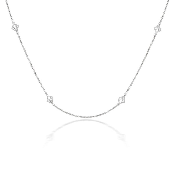 Nouveau Long Necklace - CRED Jewellery - Fairtrade Jewellery - 2