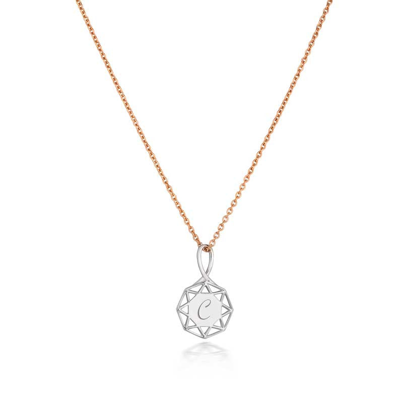 Fairtrade rose gold plated chain