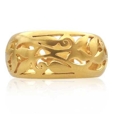 Pipal Filigree ring - CRED Jewellery - Fairtrade Jewellery - 2