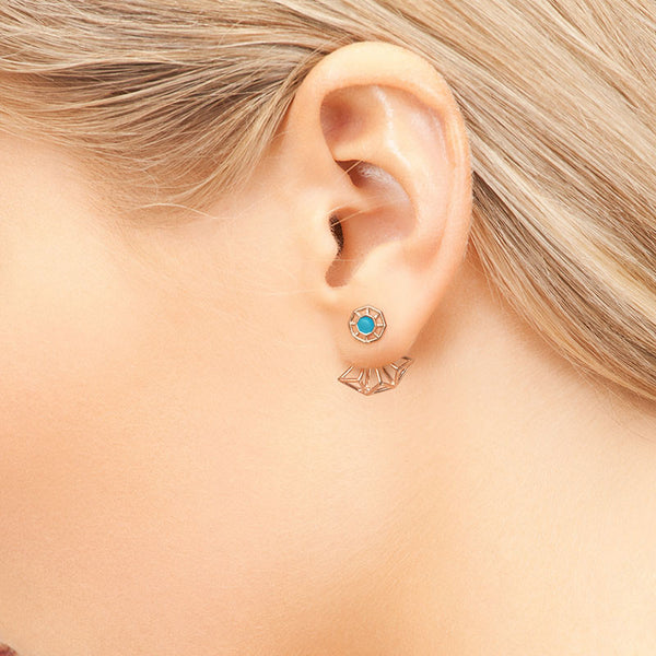 Origins Ear Jacket - CRED Jewellery - Fairtrade Jewellery - 3