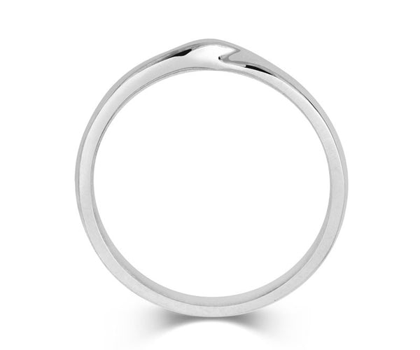 Ribbon Twist Wedding Ring - CRED Jewellery - Fairtrade Jewellery - 2