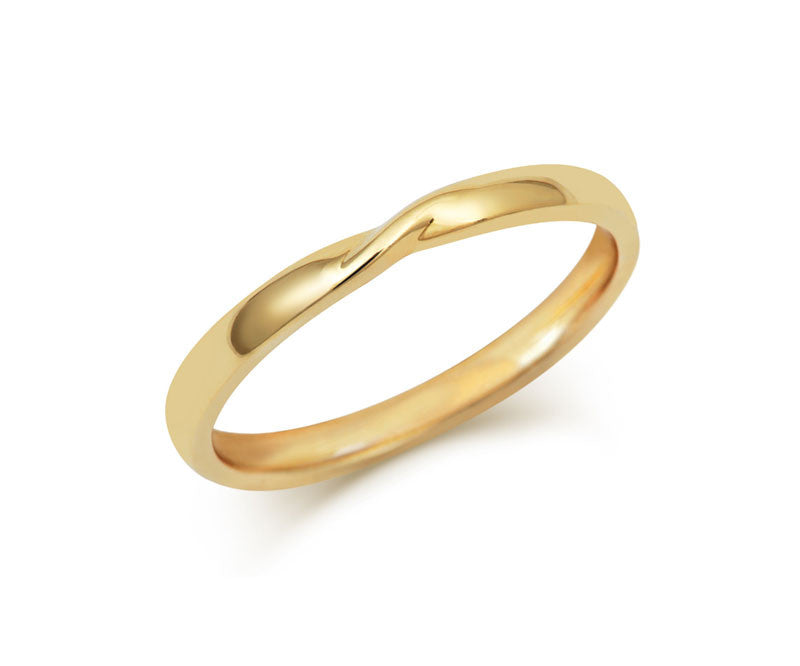 Ribbon Twist Wedding Ring - CRED Jewellery - Fairtrade Jewellery - 4