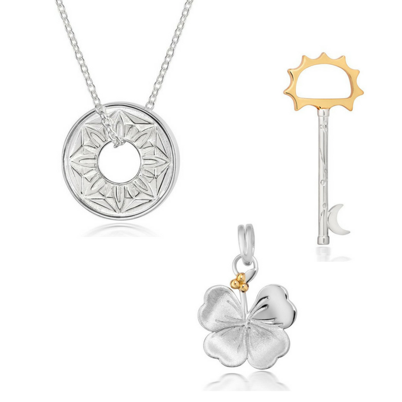 Signature Bring You Luck and Unlock Your Destiny Charm Set - CRED Jewellery - Fairtrade Jewellery