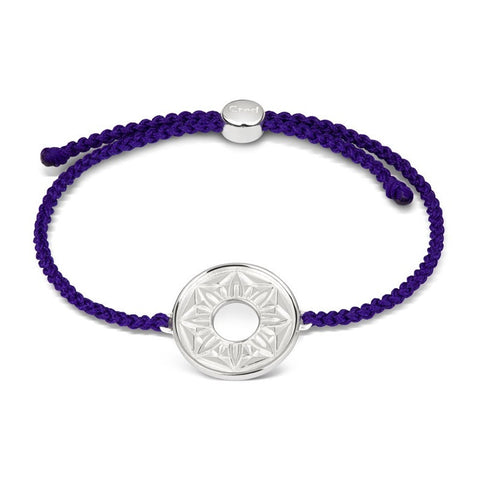 Purple Signature Cord Bracelet