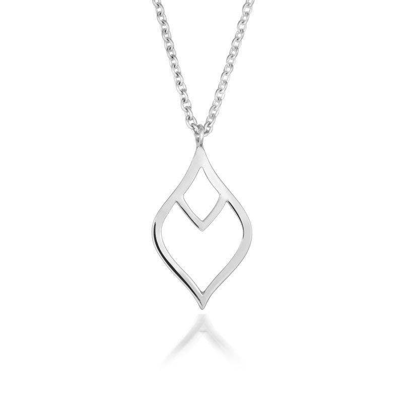 Nouveau Leaf Pendant - CRED Jewellery - Fairtrade Jewellery
