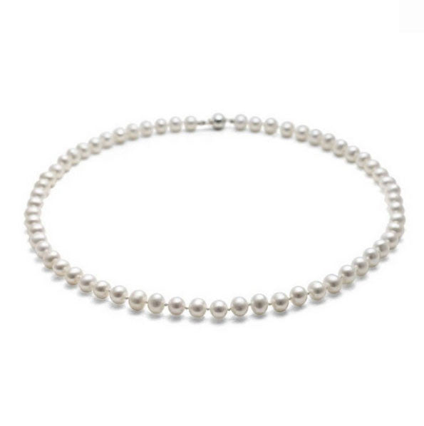 Small Classic Pearl Necklace - CRED Jewellery - Fairtrade Jewellery