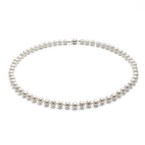 Small Classic Pearl Necklace