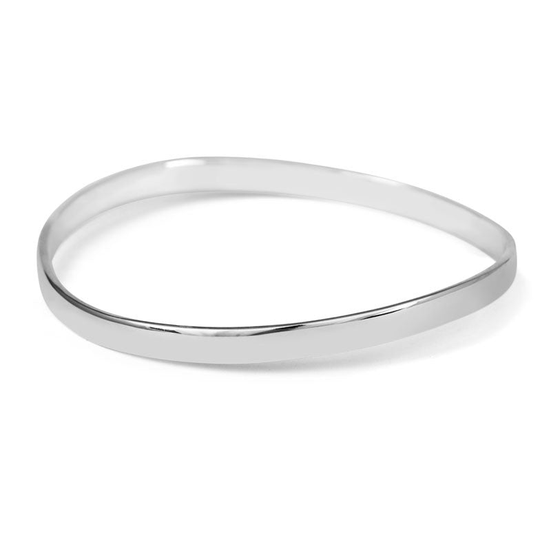 Smooth Ripple Bangle - CRED Jewellery - Fairtrade Jewellery - 1