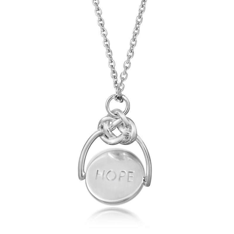 Love Knot Spinner - Love - CRED Jewellery - Fairtrade Jewellery - 5