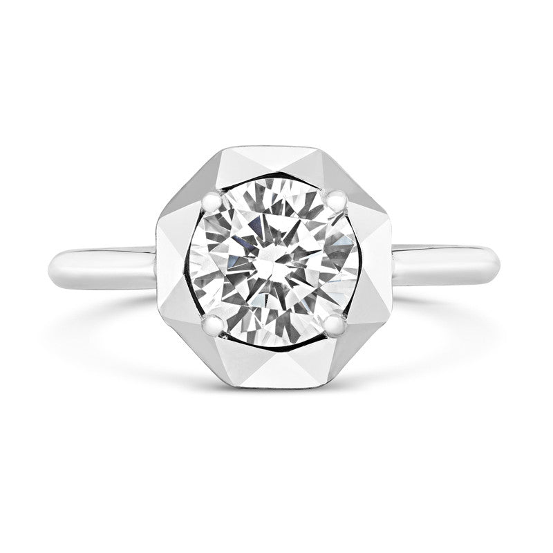 Stella Ethical Solitaire Diamond Engagement Ring - CRED Jewellery - Fairtrade Jewellery - 3