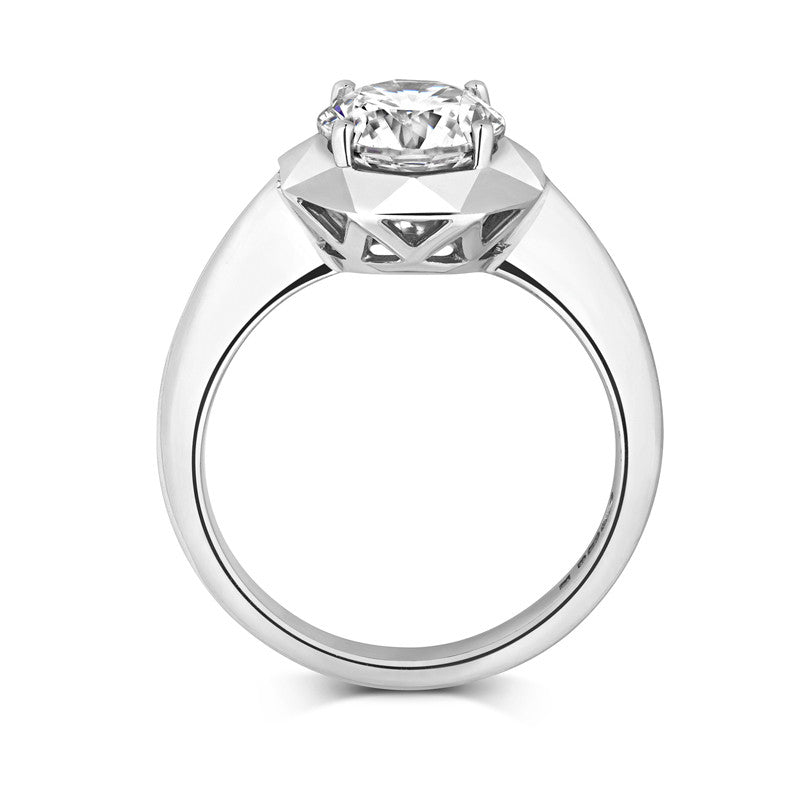 Stella Ethical Solitaire Diamond Engagement Ring - CRED Jewellery - Fairtrade Jewellery - 2