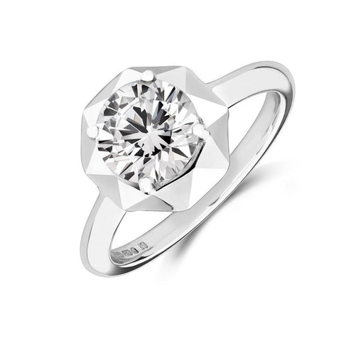 Stella Ethical Solitaire Lab Grown 1.5ct Diamond Engagement Ring