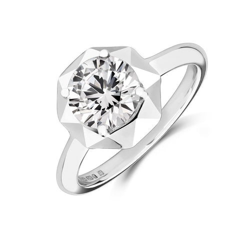 Stella Solitaire Ethical Engagement Ring