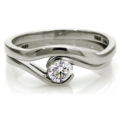 Sweep Wedding Ring - CRED Jewellery - Fairtrade Jewellery - 2