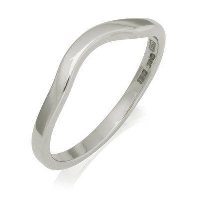 Sweep Wedding Ring - CRED Jewellery - Fairtrade Jewellery - 3