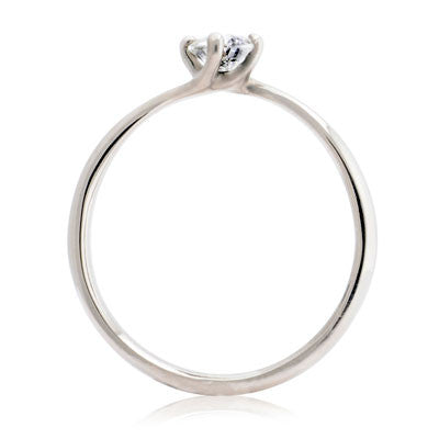 Twist Solitaire Engagement Ring - CRED Jewellery - Fairtrade Jewellery - 6