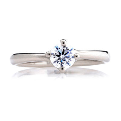 Twist Solitaire Engagement Ring - CRED Jewellery - Fairtrade Jewellery - 2