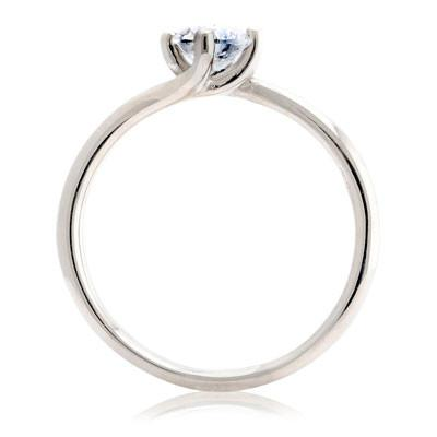 Twist Solitaire Engagement Ring - CRED Jewellery - Fairtrade Jewellery - 3