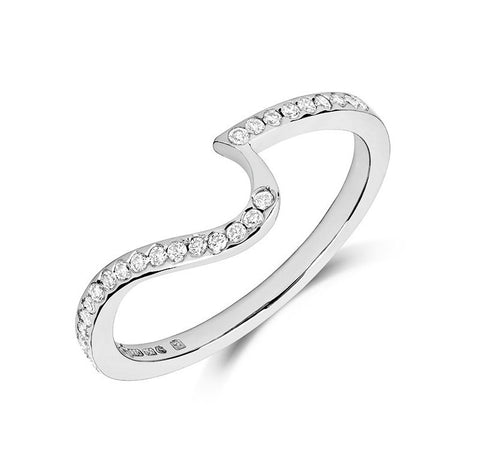 Toi & Moi Wedding Ring - Yellow or White Gold (18ct) or Platinum