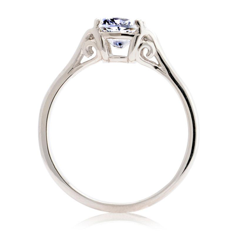 1ct Cushion-cut Ethical Diamond Engagement Ring - CRED Jewellery - Fairtrade Jewellery - 3