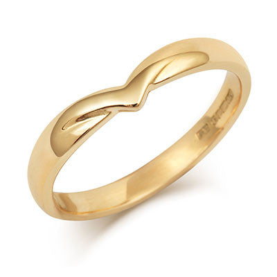 V Shaped Wedding Ring - CRED Jewellery - Fairtrade Jewellery - 3