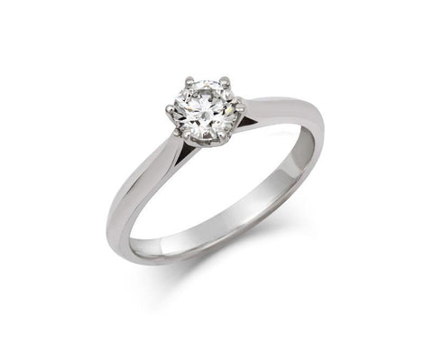 Rosa - Ethical 0.5ct Lab Grown Solitaire Diamond Engagement Ring