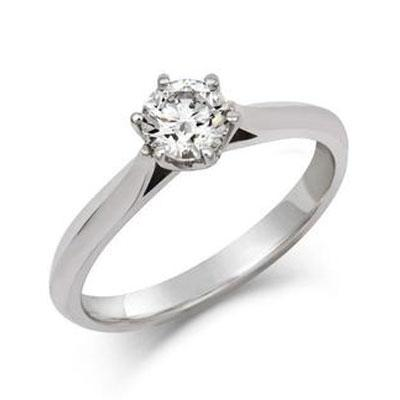 Rosa - Ethical 0.5ct Solitaire Diamond Engagement Ring