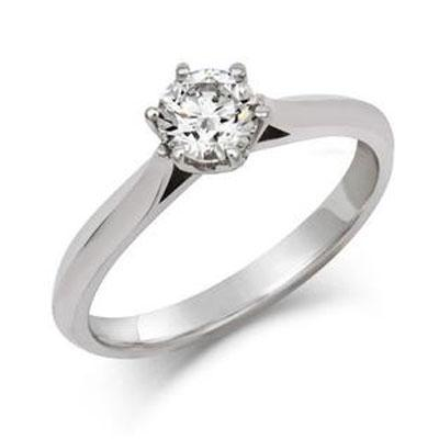 Diamond Crown Ethical 0.3ct Solitaire Diamond Engagement Ring