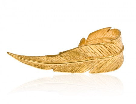 Large Feather Ring - CRED Jewellery - Fairtrade Jewellery