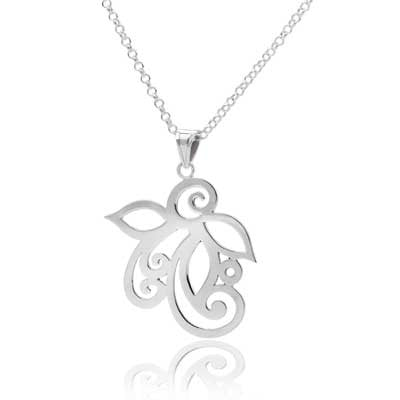 Ful flower pendant necklace - CRED Jewellery - Fairtrade Jewellery - 2