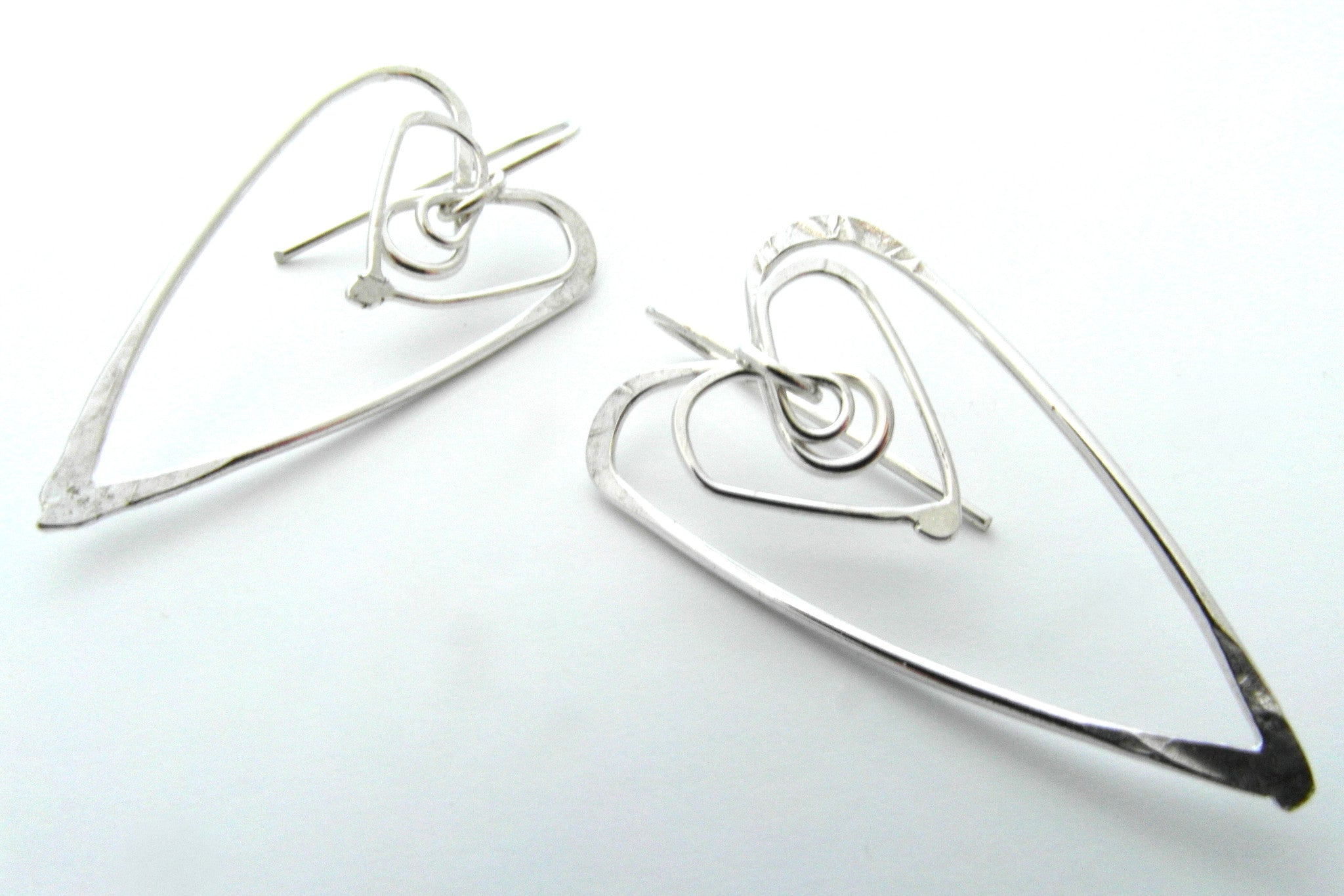 Hart to Hart Earrings - CRED Jewellery - Fairtrade Jewellery
