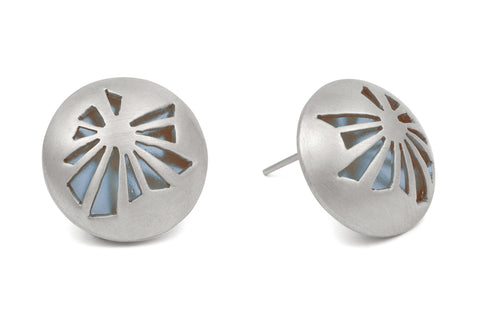 Fractured Light Stud Earrings