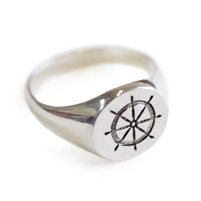 Control Signet Ring - CRED Jewellery - Fairtrade Jewellery