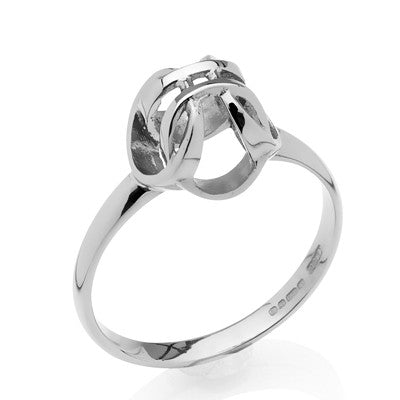 Forget - Me - Knot ring - CRED Jewellery - Fairtrade Jewellery