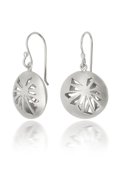 Fractured Light Drop Earrings - CRED Jewellery - Fairtrade Jewellery
