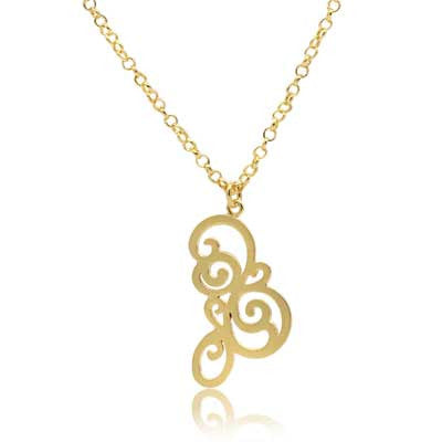 Hanga entwined pendant - CRED Jewellery - Fairtrade Jewellery - 2