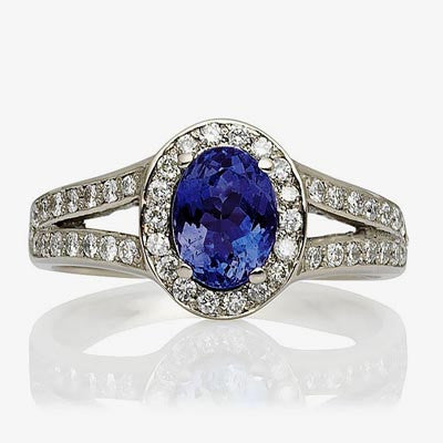 Windsor Ethical Sapphire and Diamond Cocktail Ring