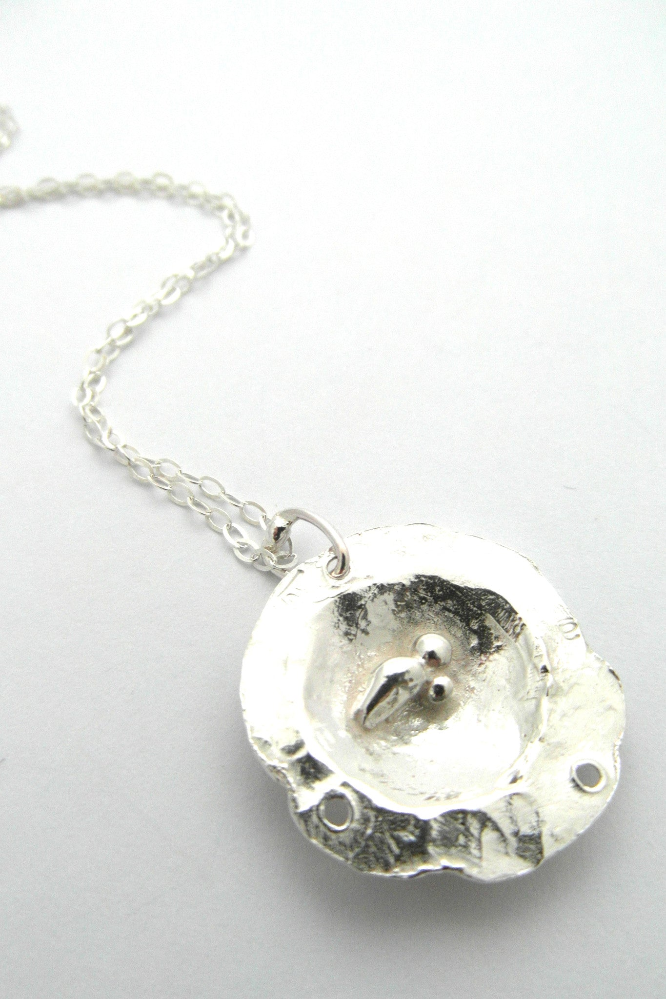 Petit Rose Of Donegal Necklace - CRED Jewellery - Fairtrade Jewellery
