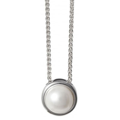 Alice Simple Jersey Pearl Pendant