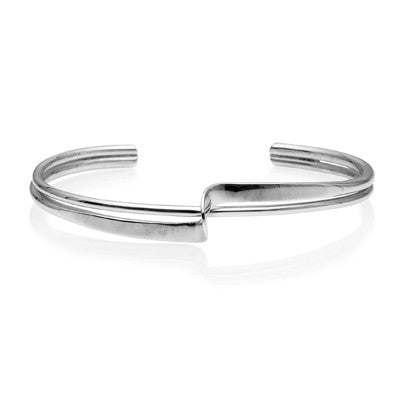 Step Bangle - CRED Jewellery - Fairtrade Jewellery