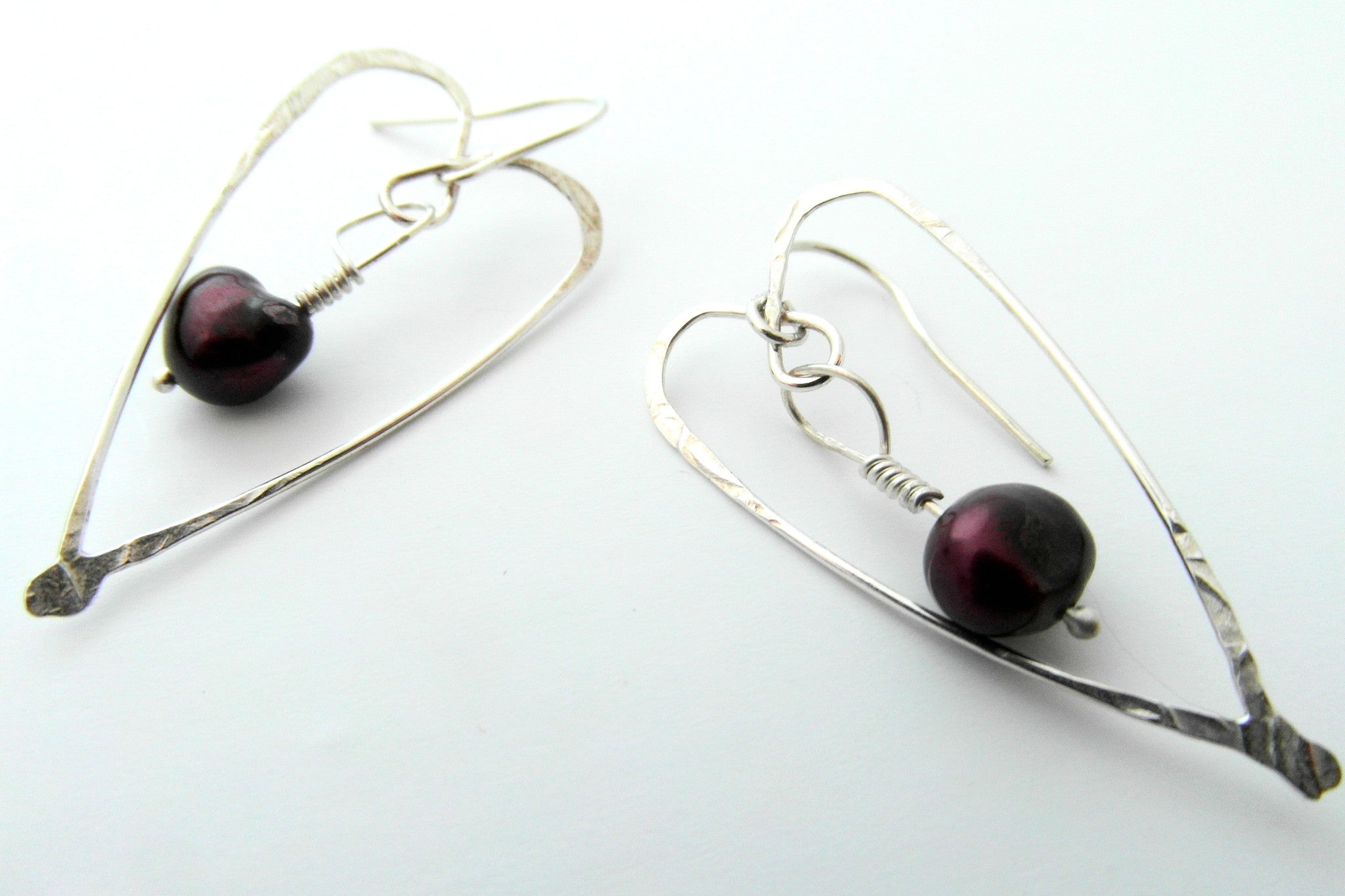 Captured Heart Earrings - CRED Jewellery - Fairtrade Jewellery