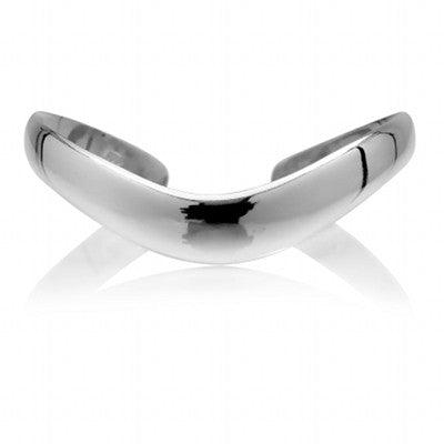 Solid Curve Bangle - CRED Jewellery - Fairtrade Jewellery