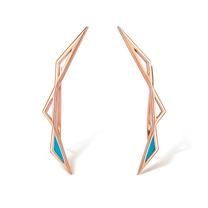 Origins Climber Earrings - CRED Jewellery - Fairtrade Jewellery - 1