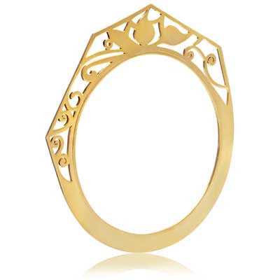 Pipal Filigree bangle - CRED Jewellery - Fairtrade Jewellery - 2