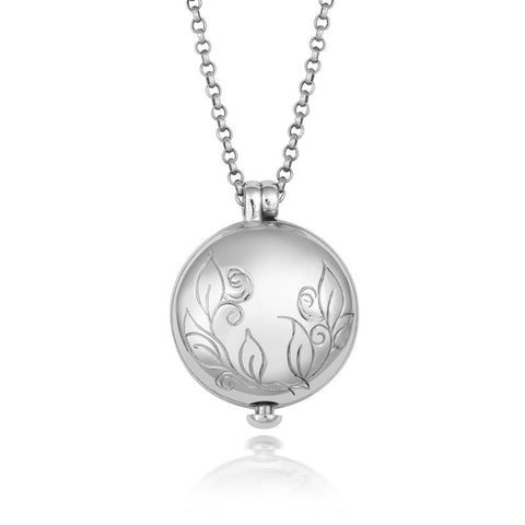 Treasured Large Leaf Locket