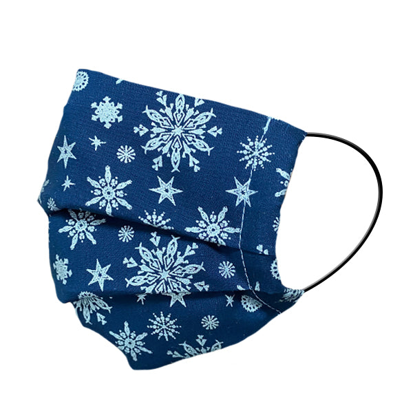 "Winter Edition 1 ""Blue""  - Stoffmaske inkl. Zusatzvlies - MASKED."